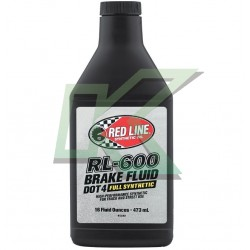 Liquido de frenos Red Line RL-600 / DOT 4 (473 ml)