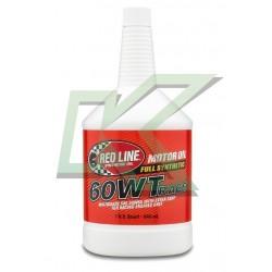 Aceite sintético de motor Red Line 60WT Race Oil / SAE 20W60 (946 ml) /Quarts