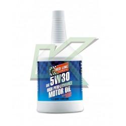 Aceite sintético de motor Red Line SAE 5W30 (946 ml) /Quarts