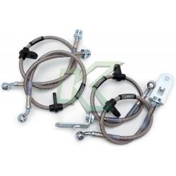 Flexibles de acero lineas de freno Russell / Civic - CRX 88-91