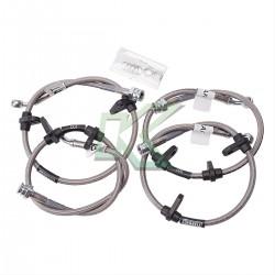 Flexibles de acero lineas de freno Russell / Civic - CRX 90-91
