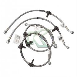 Flexibles de acero lineas de freno Russell / Integra 94-01 (No Type-R)