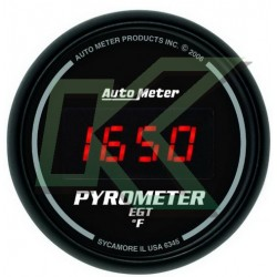 "Medidor De Temp De Escape Sport-Comp/autometer 2-1/16"" (52.4mm)"