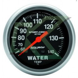 """Medidor de temp. agua en celsius Sport-comp/Autometer 2-5/8"""" (66.7mm)"""