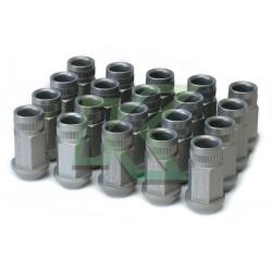Tuercas de rueda Skunk2 12 X 1.25 - Color Plata / 20 Unidades