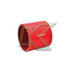 "Copla recta de silicona de 3"" Vibrant / Rojo"