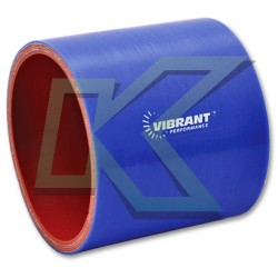 """Copla recta de silicona de 4"""" Vibrant / Azul"""