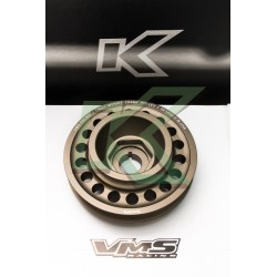 Polea de cigueñal de 2 pistas VMS / Serie H-Vtec