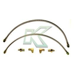 Flexibles de acero lineas de freno Wilwood (delanteros) / Civic 88-00