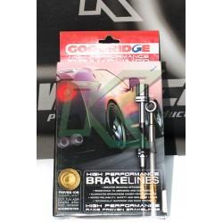 Flexibles de acero lineas de freno Goodridge/ Subaru WRX 08-14