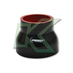 """Copla reductora de silicona 3.0"""" A 2.5"""" Vibrant / Negro"""