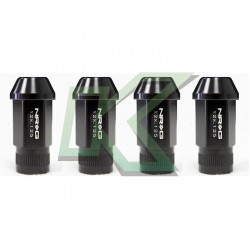 Tuercas de rueda Nr-G Color Negro / 4 Unidades