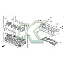 Retenes De Valvulas Honda (escape) 5.5mm / Honda Vtec