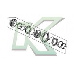 Kit de reparacion 3ra/4ta marcha - Original Honda / Serie K20 (6ta)