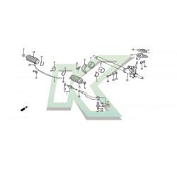 Terminal Direccion Izq - Honda / Civic-Del Sol 92-95 - Integra 94-01