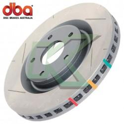 Disco de freno delantero DBA T3 / Integra Type-R  97-01 (5 Pernos)