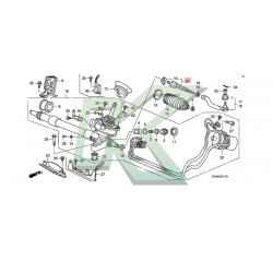 Axial De Direccion Honda / Civic 06-11