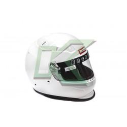 Casco de piloto RaceQuip Pro15 / Talla M - Blanco