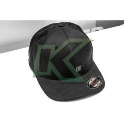 Gorro Sparco Flexfit Negro S-M / Logo Negro-Gris
