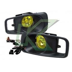 Neblineros Civic 99-00 2/3/4 Puertas / Color Amarillo