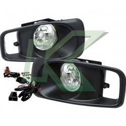 Neblineros Civic 99-00 2/3/4 Puertas / Color Clear