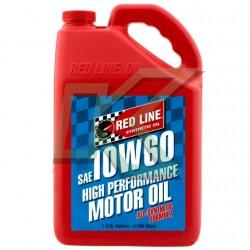 Aceite sintético de motor Red Line SAE 10W60 (3.785 L) / Gallon