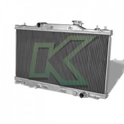 Radiador Doble Corrida De Aluminio - Dna / Rsx-Dc5 02-05