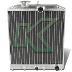 Radiador Doble Corrida De Aluminio - Dna / Civic 92-00