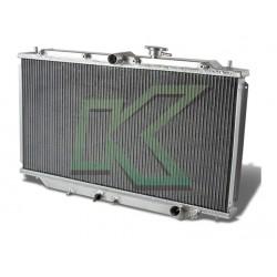 Radiador De 3 Corridas De Aluminio - Dna / Prelude 92-96
