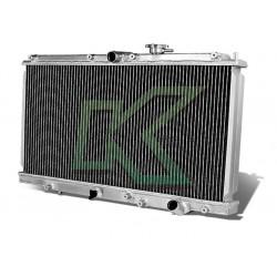 Radiador Doble Corrida De Aluminio - Dna / Prelude 97-01