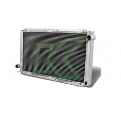 Radiador Doble Corrida De Aluminio - Dna / Subaru Wrx 92-00
