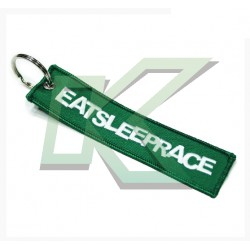 Embroidered Keychain / Green