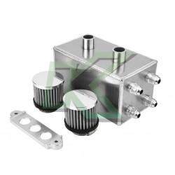 Canister de aceite - Aluminio / 4 Entradas de 10an + 2 Filtros