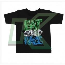 Kids Scribble T-Shirt / Black