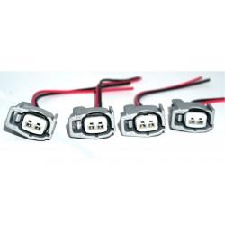 Set enchufes inyectores RDX 410cc / Honda serie K