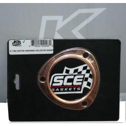 """Empaque de cobre SCE - Collector turbo en 3"""""""