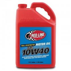 Aceite sintético de motor Red Line SAE 10W40 (3.785 lts) / Gallon