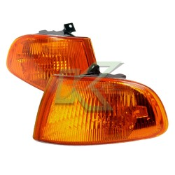Corner Light Civic 92-95 2-3 Puertas / Jdm Amber