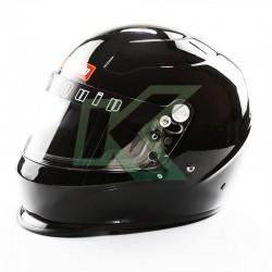 Casco de piloto RaceQuip Pro15 / Talla L - Negro Gloss