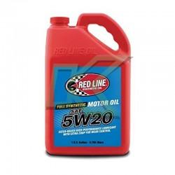 Aceite sintético de motor Red Line SAE 5W20 (3.785 Litros) / Gallon