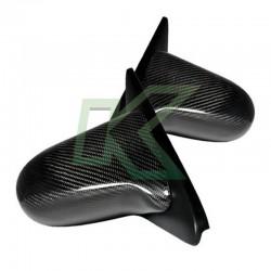 Espejos De Carbono Mec. Civic Eg 92-95 Hatch / Spoon Style