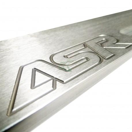Barra trasera inferior ASR / Subframe EG-DC2 Color Plata