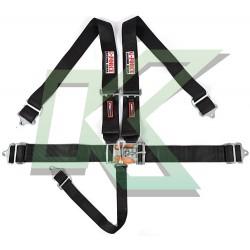 """Cinturón G-Force 5 puntas de 3"""" Sistema Latch  (negro)"""