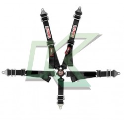 Cinturón G-Force Junior 5 punta sistema Camlock  (negro)