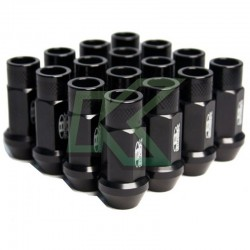Tuercas de rueda Blox 12 X 1.5 - Negro / 16 Unidades