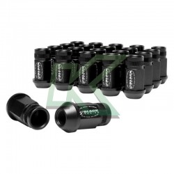 Tuercas de rueda Skunk2 12 X 1.5 - Negro / 16 Unidades