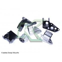 Kit de soportes Hasport Swap serie K / EG 92-95 - Integra 94-01