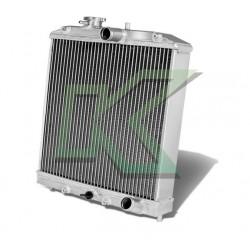 Radiador De 3 Corridas De Aluminio - Generico / Civic 92-00