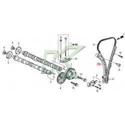 Brazo tensor cadena de distribucion original HONDA / Serie K20