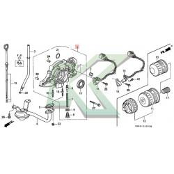 Bomba de aceite original Honda / Serie D 96-00